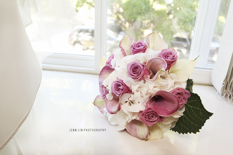 """Bride's Wedding Bouquet"", © 2013 Jenn Lin Photography"