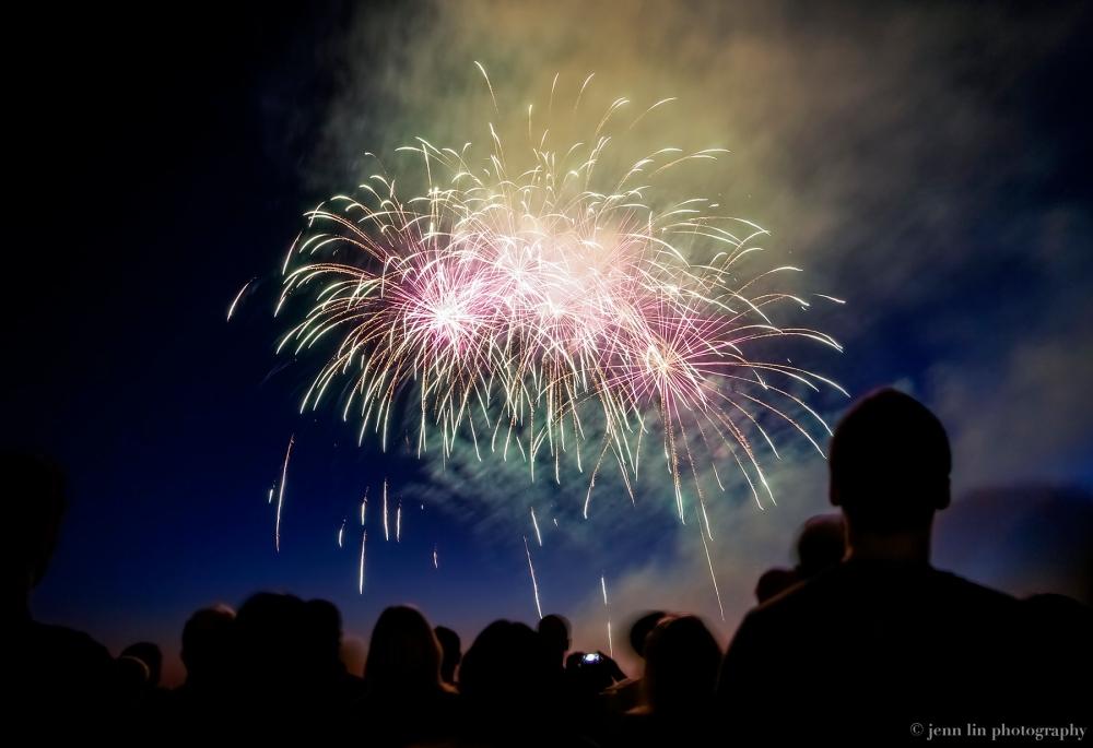 Multicoloured Fireworks