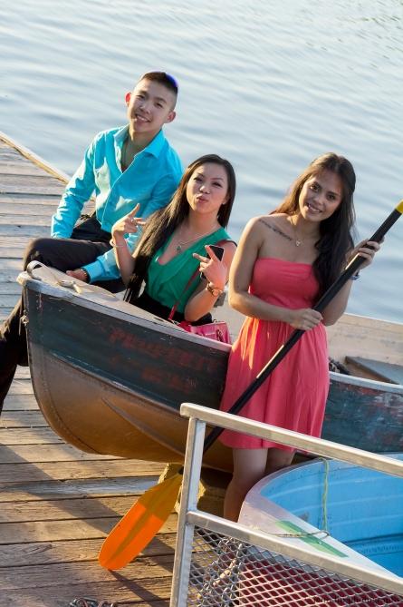 Peace on a boat by Jenn Lin 07:29:2013