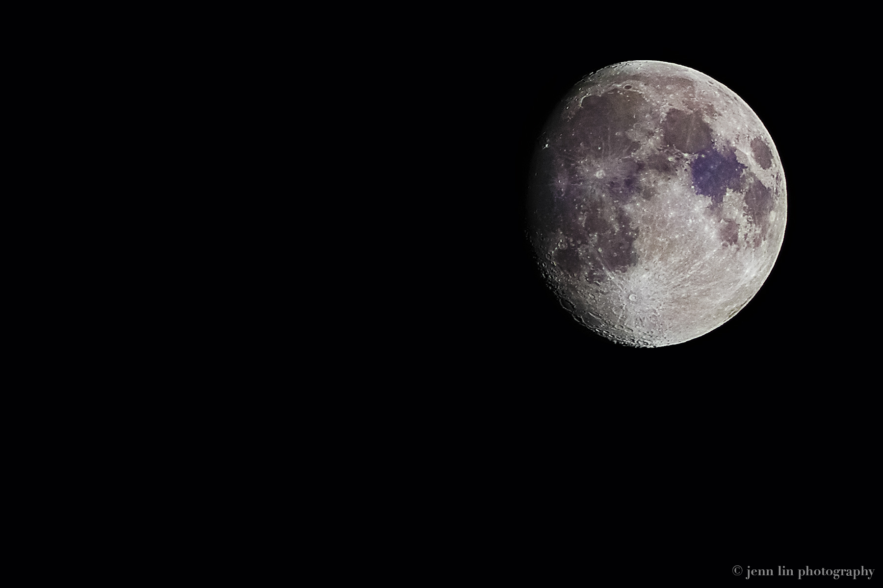 """A Bruised Moon"" © 2013 Jenn Lin Photography"