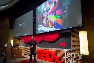 Gary Yarbrough at TEDxTerryTalks 2013, Photo by Jenn Lin
