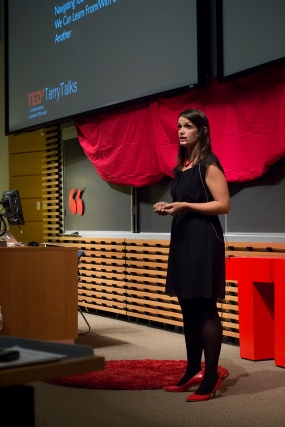Ashley Welsh at TEDxTerryTalks 2013, Photo by Jenn Lin