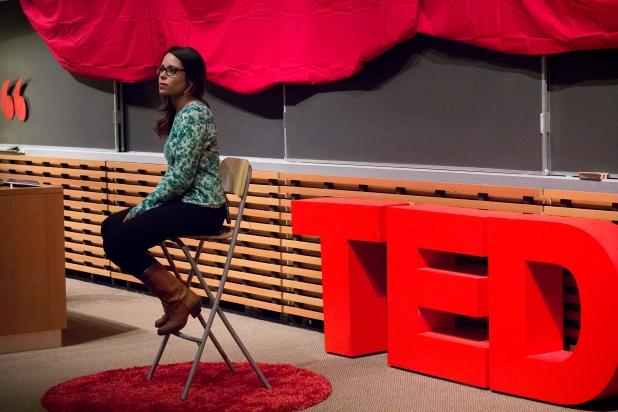 Lucia Lorenzi at TEDxTerryTalks 2013, Photo by Jenn Lin