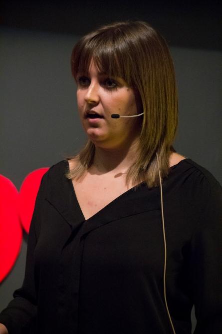 Shannon Hoekstra at TEDxTerryTalks 2013, Photo by Jenn Lin