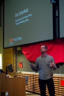Eric Schofield at TEDxTerryTalks 2013, Photo by Jenn Lin
