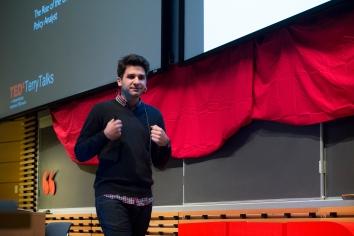 Altay Sedat Otun at TEDxTerryTalks 2013, Photo by Jenn Lin