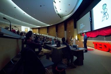 Chris Dare at TEDxTerryTalks 2013, Photo by Jenn Lin