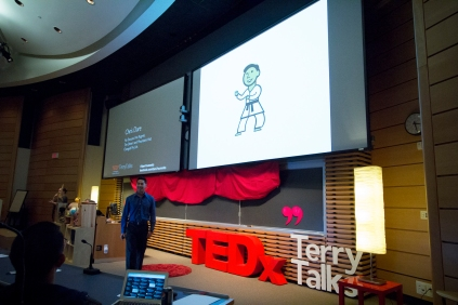Chris Dare at TEDxTerryTalks 2013, Photo by Jenn Lin