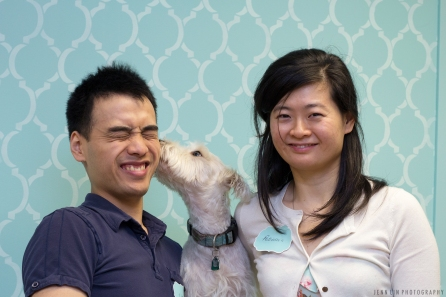 Victor Lam, Patricia Song of Pet Parlour
