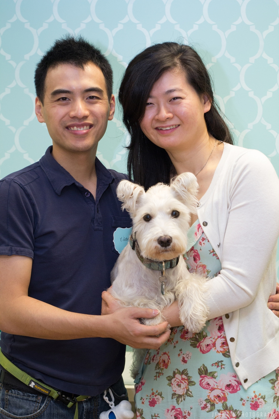 Victor and Patricia, owners of Pet Parlour