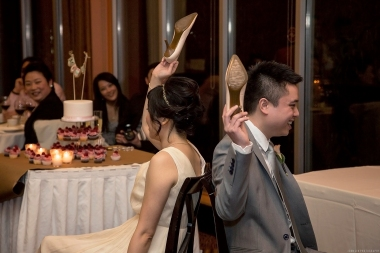 The shoe game for weddings © 2014 Jenn Lin Photography