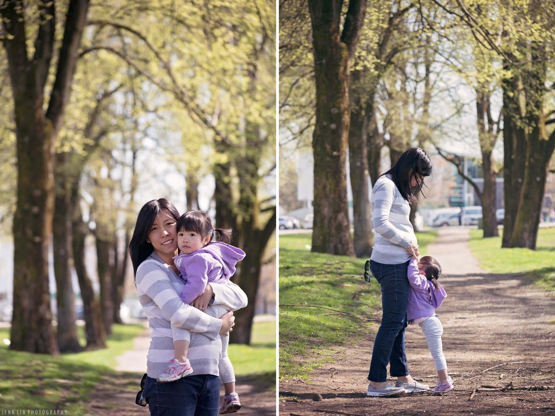 Mother and Daughter Portrait © 2014 Jenn Lin Photography