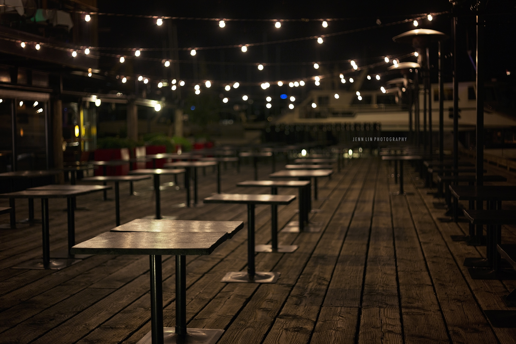 Summer Romance, Patio at Night
