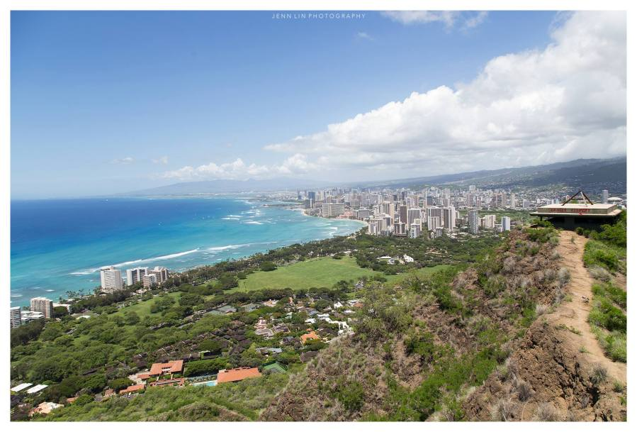 Diamond Head State Monument © 2015 Jenn Lin