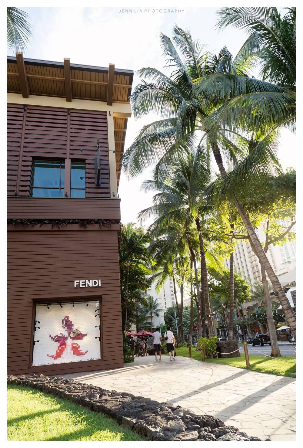 Fendi Store in Waikiki © 2015 Jenn Lin