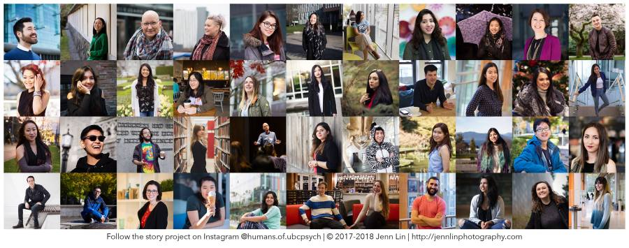 Humans of UBC Psych Banner © 2018 Jenn Lin